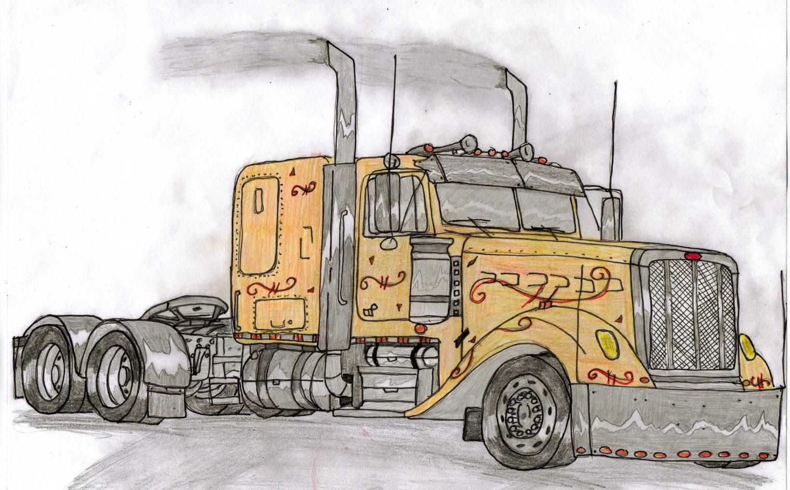1600x993 Pickup Truck Drawings American Classic Car