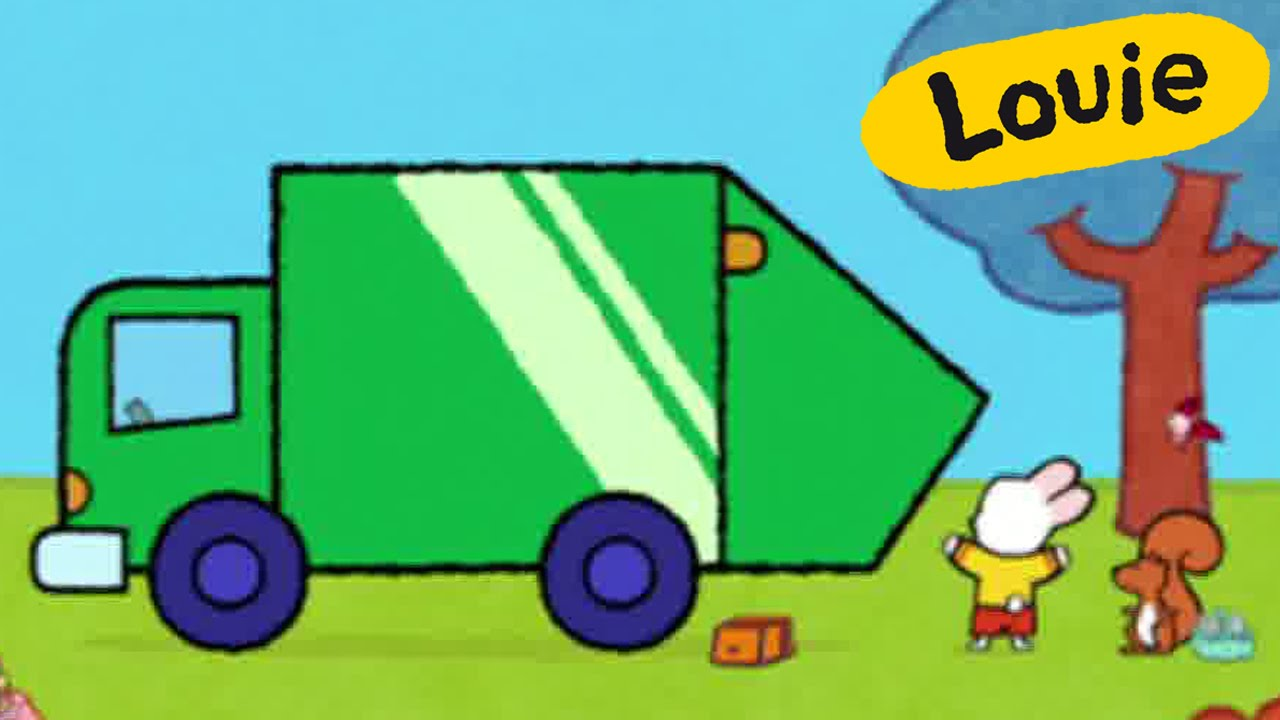 1280x720 Garbage Truck Dustbin Lorry
