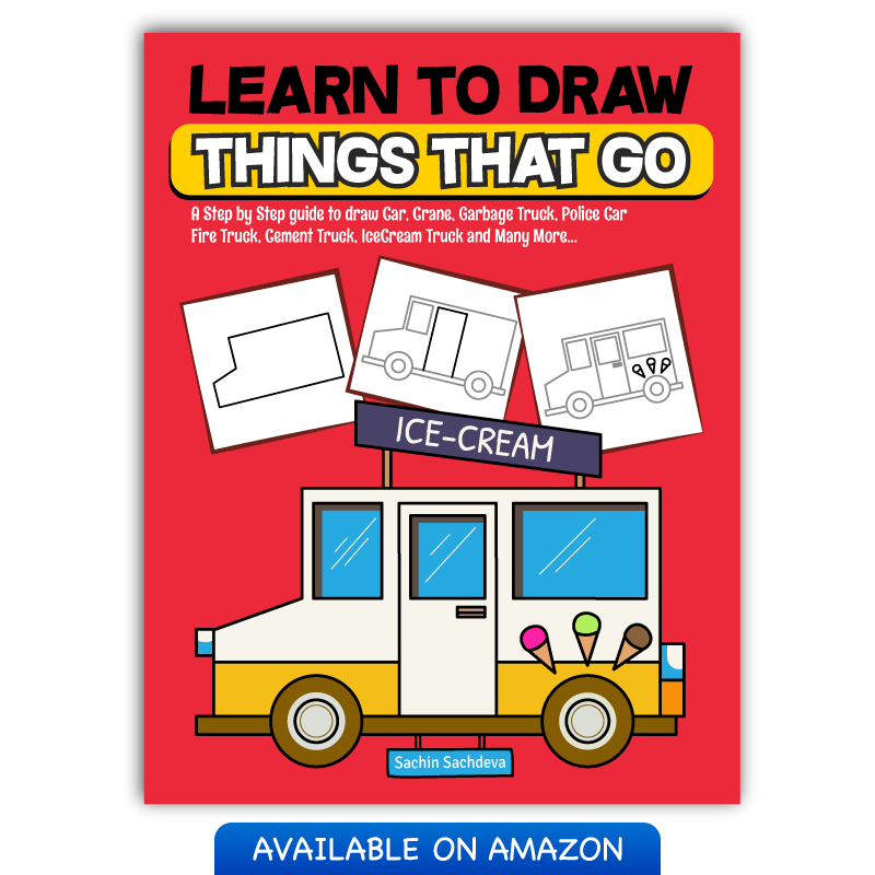 800x800 A Step By Step Guide To Draw Car, Crane And Many More Inky