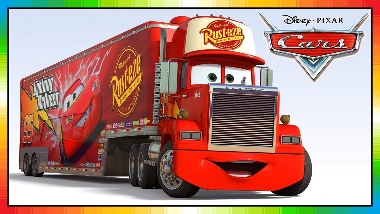 1280x720 Mack Truck Cars Disney