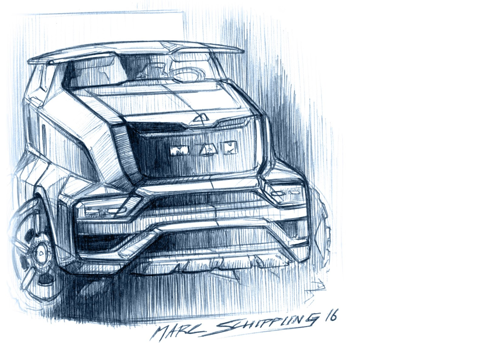 Truck Sketch Drawing at GetDrawings.com   Free for personal use ...