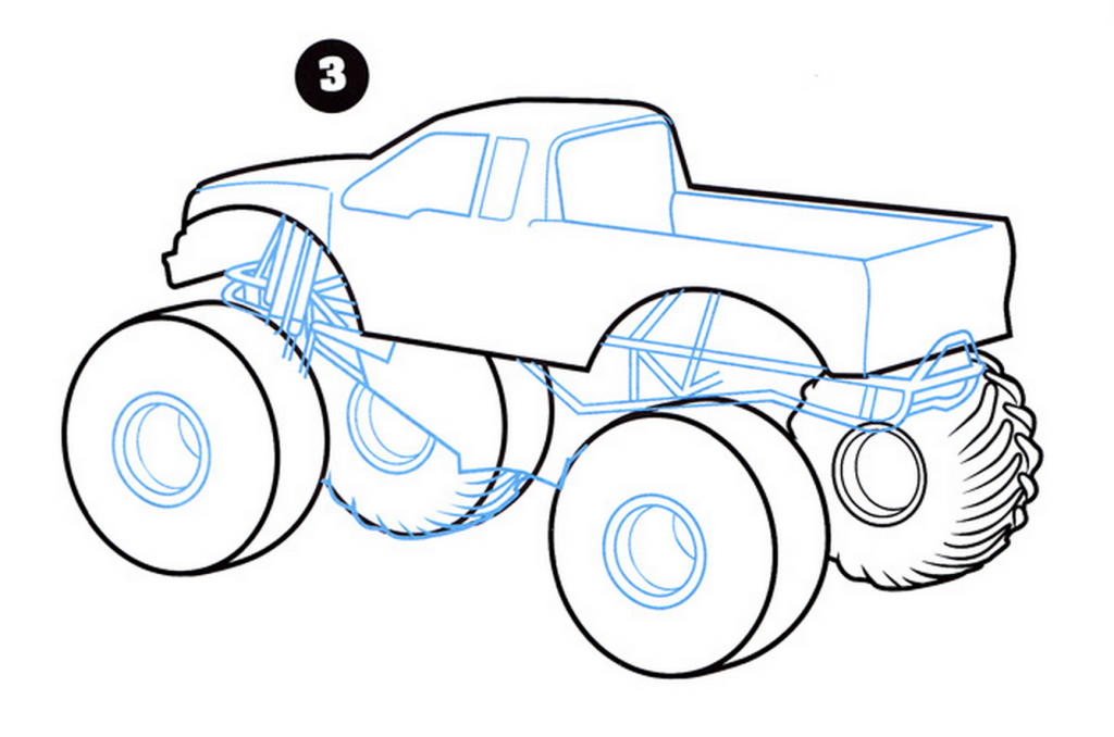 Learn How to Draw a Pickup Truck (Trucks) Step by Step ...