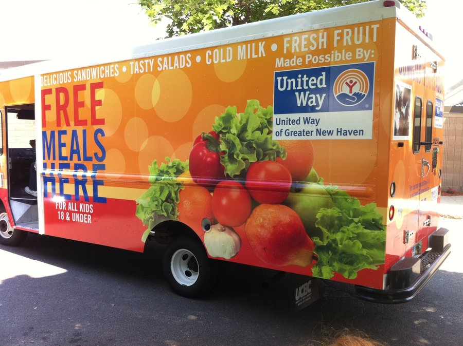 900x674 Food Trucks Draw Hungry Kids For Free Summer Meals The Salt Npr