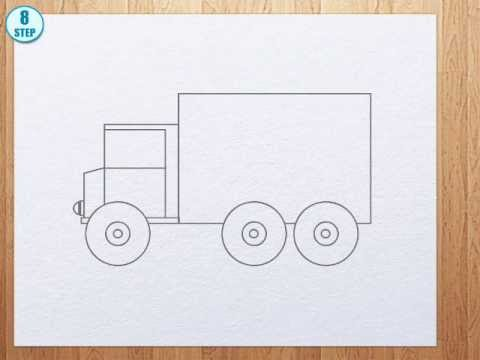 480x360 How To Draw Truck