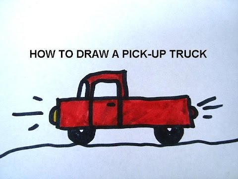 480x360 Truck Drawings For Kids Collection