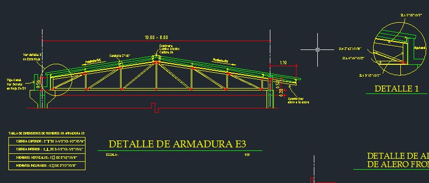 Truss drawing at free for personal use for Roof drawing software