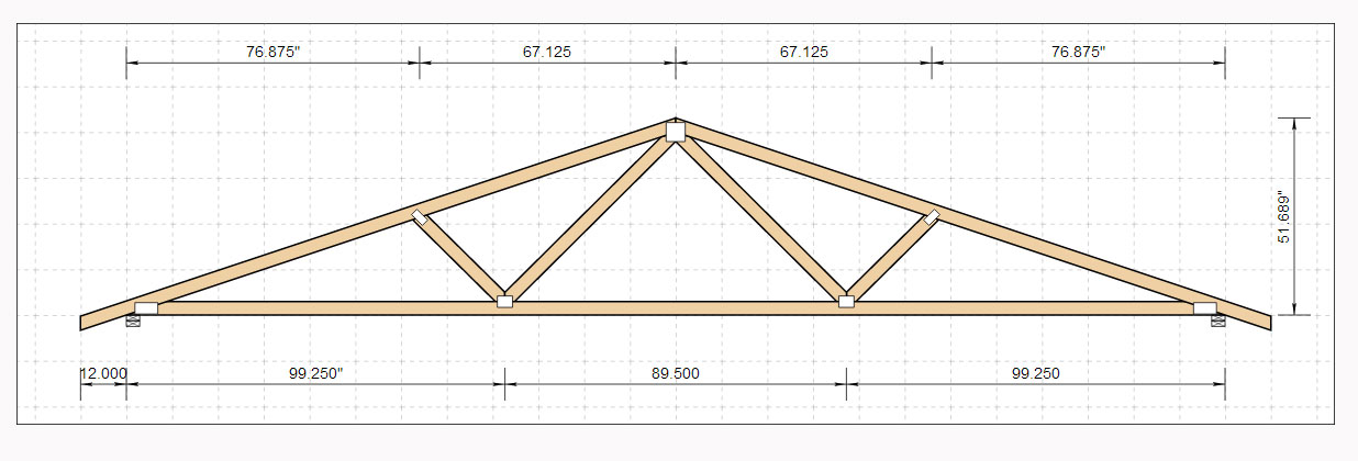 Truss Drawing at GetDrawings com | Free for personal use