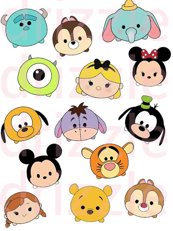 570x760 Disney Tsum Tsum, Disney Tsum Tsum Stickers, Disney Clipart