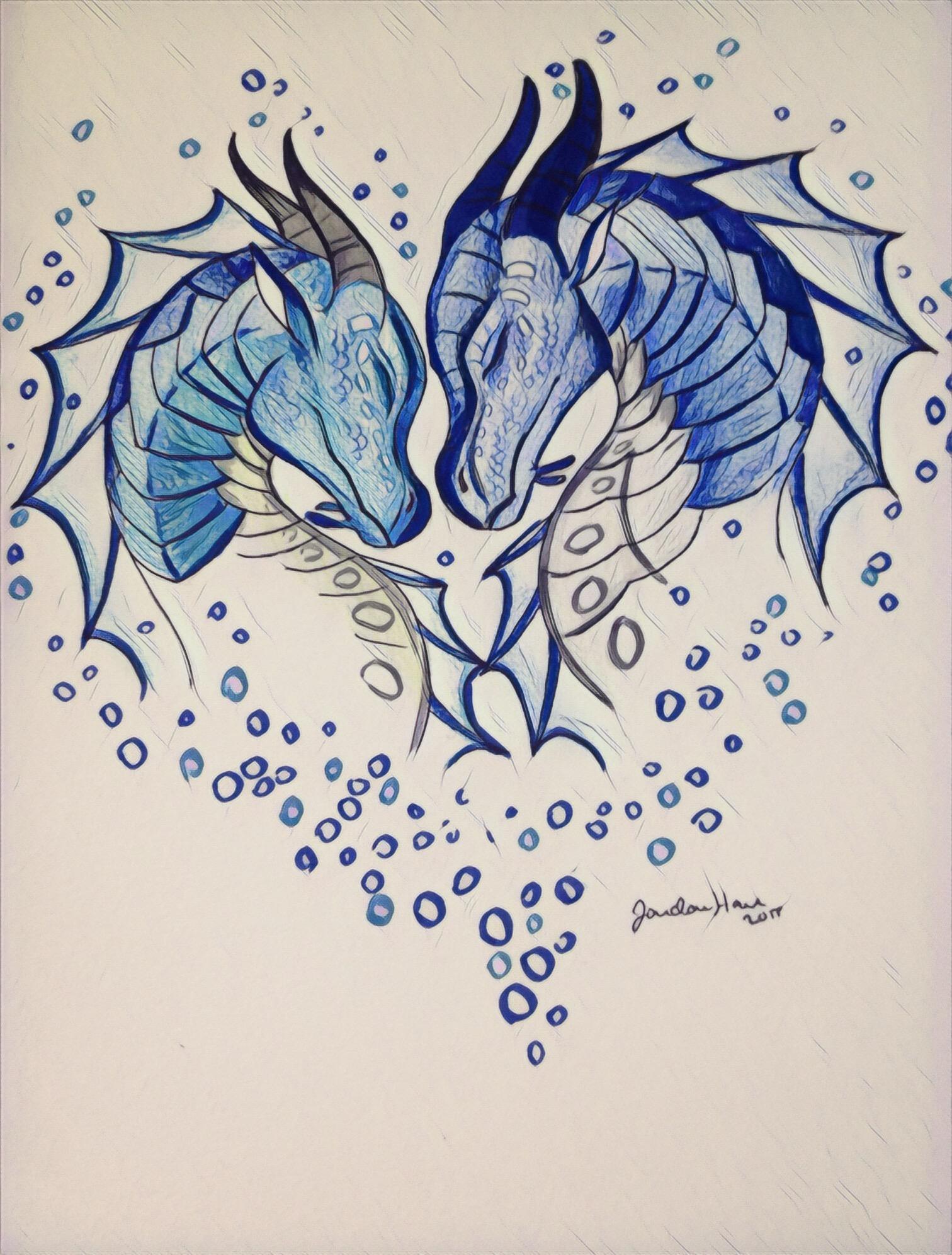 1512x1992 Tsunami Amp Riptide Wof Dragons, Drawings