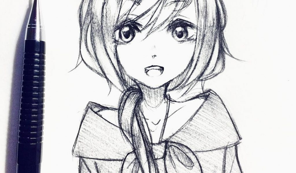 Tumblr Anime Drawing At Getdrawings Com Free For Personal Use