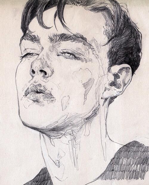 500x620 Aesthetic Art Drawing Grunge Indie