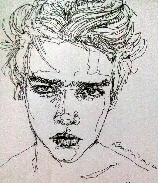 521x604 Art, Boy, Drawing, Drawings, Sketch, Swag, Tumblr