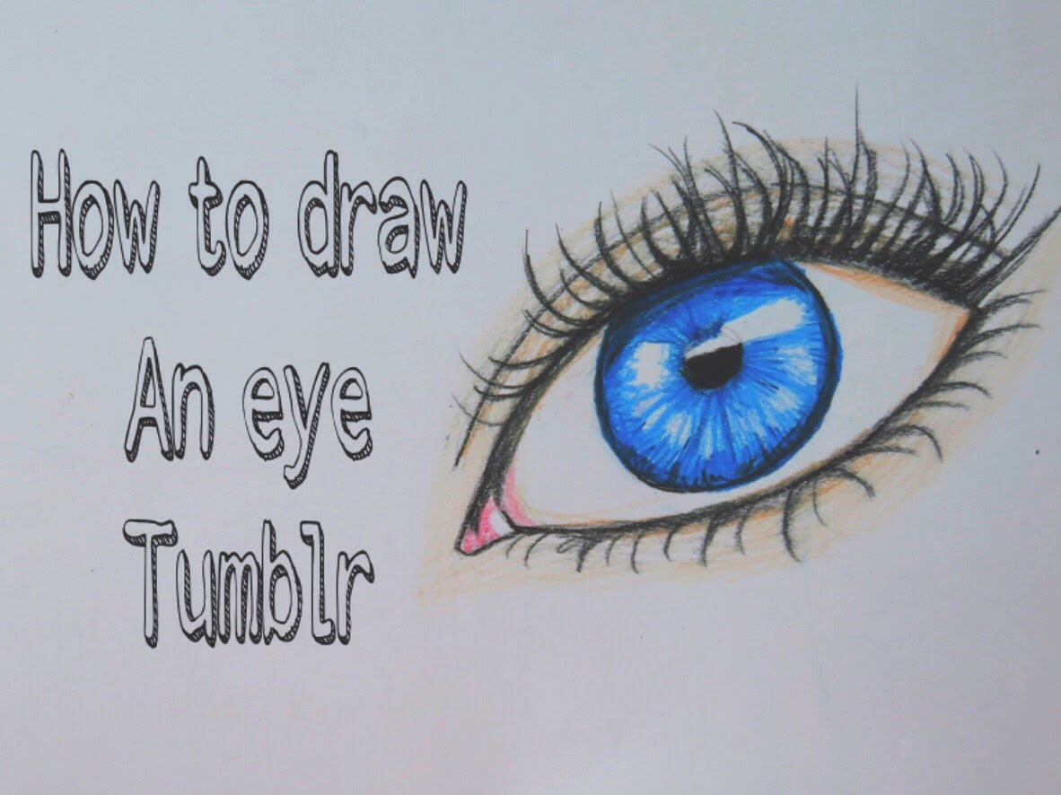 Tumblr Eye Drawing At Getdrawings Com Free For Personal Use Tumblr