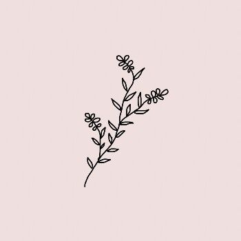 Tumblr Flower Drawings 4 1 350x350 Pin By Urara On Aesthetic Pinterest Tattoo Doodles And Tatting