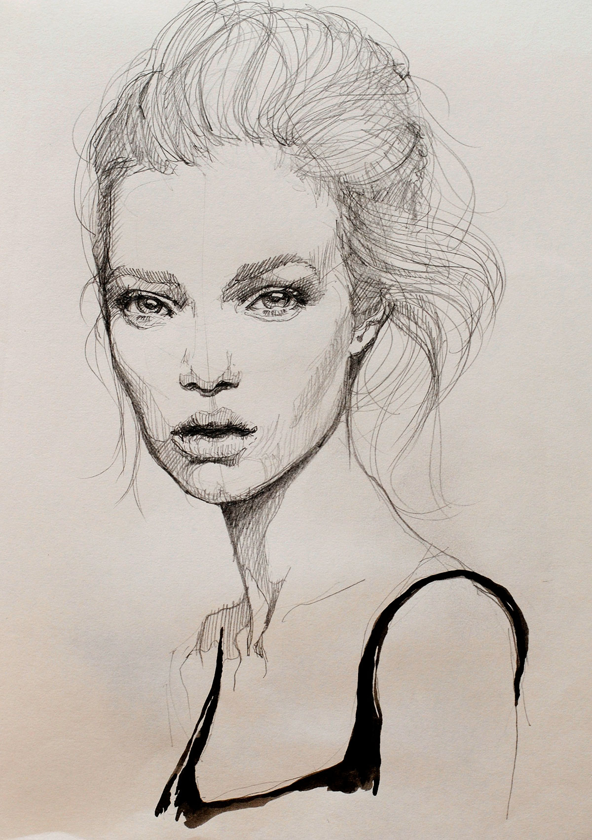 Line Drawing Portrait Tumblr : Tumblr portrait drawing at getdrawings free for