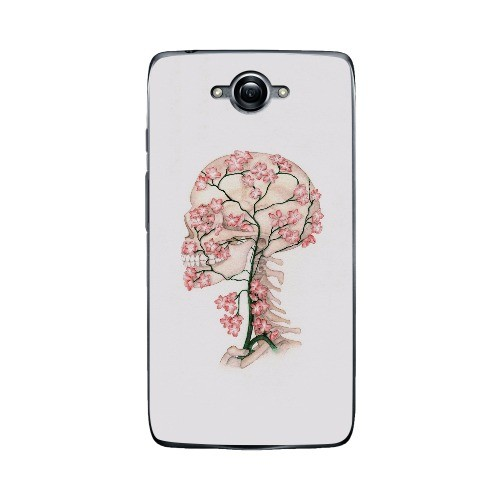 500x500 Moto Droid Turbo Flower Skull Drawing Case Custom Cases