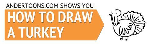 498x147 How To Draw A Cartoon Turkey