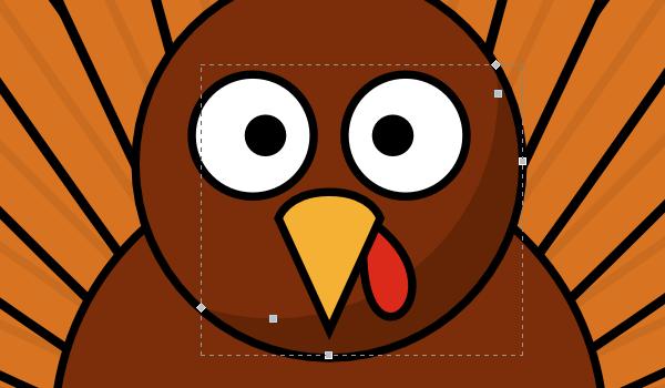 600x350 How To Draw A Cartoon Turkey Goinkscape!