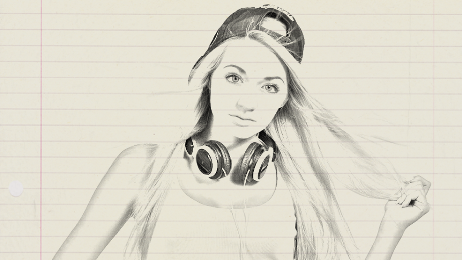 920x519 Image Into A Drawing Using Photoshop Photoshop Tutorials