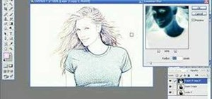 300x140 How To Turn A Photo Into A Drawing With Photoshop Photoshop