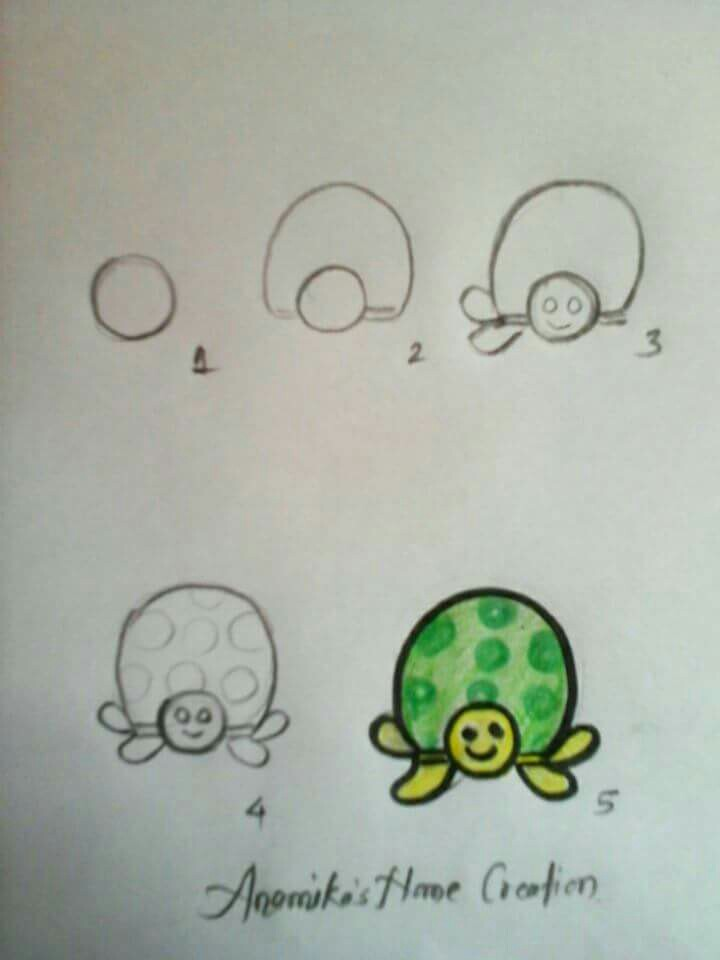 720x960 Turtle Drawing Fun Food! Turtle, Doodles And Drawings