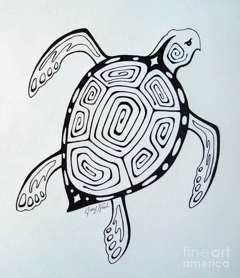 Turtle Image Drawing at GetDrawings.com | Free for personal use ...