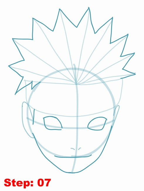 491x653 Drawing Naruto Tutorial Step 7 Naruto Shippuden Tutorial