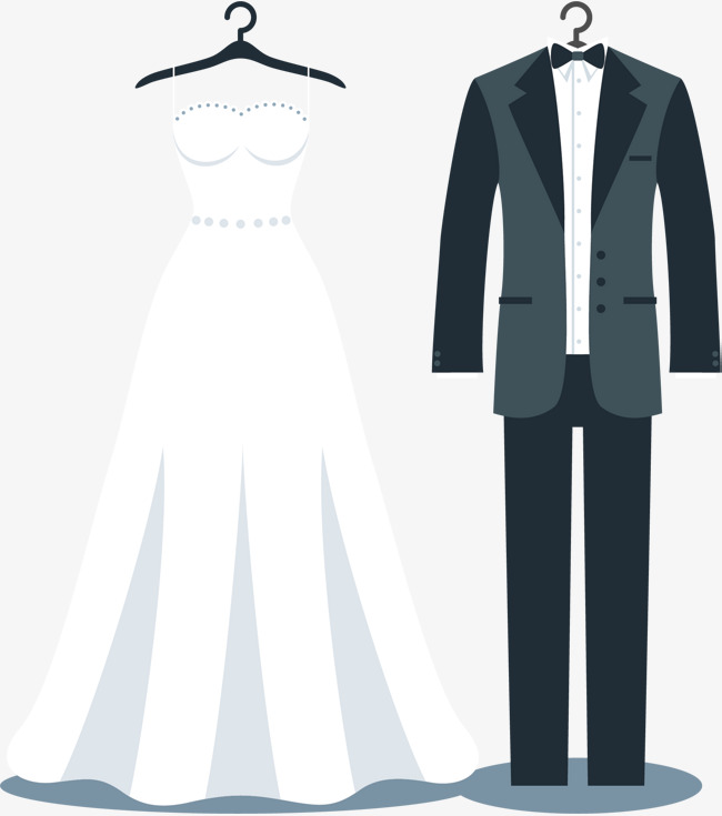 650x735 Wedding Dress And Tux Png Transparent Wedding Dress And Tux.png