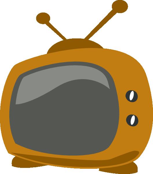 528x598 Cartoon Tv Clip Art
