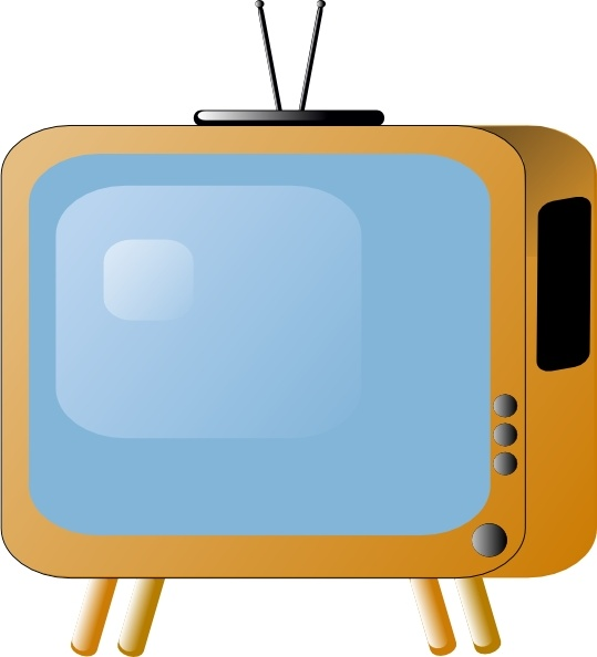 539x594 Old Styled Tv Set Clip Art Free Vector In Open Office Drawing Svg