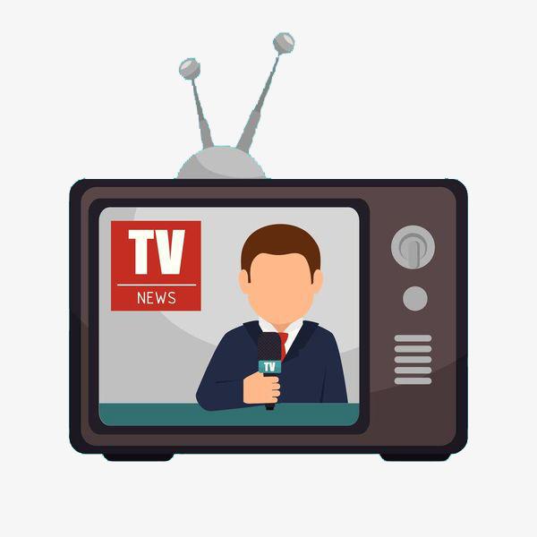600x600 Tv News, Cartoon Hand Drawing, Advertisement, Propaganda Png Image