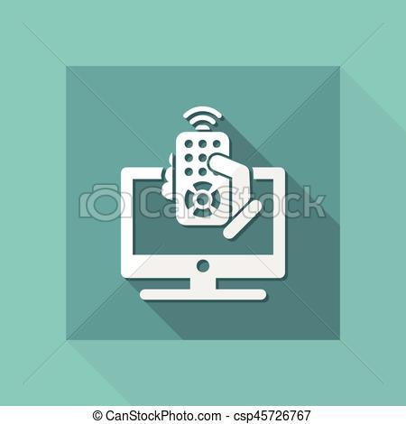 450x470 Tv Remote Controller Clip Art Vector