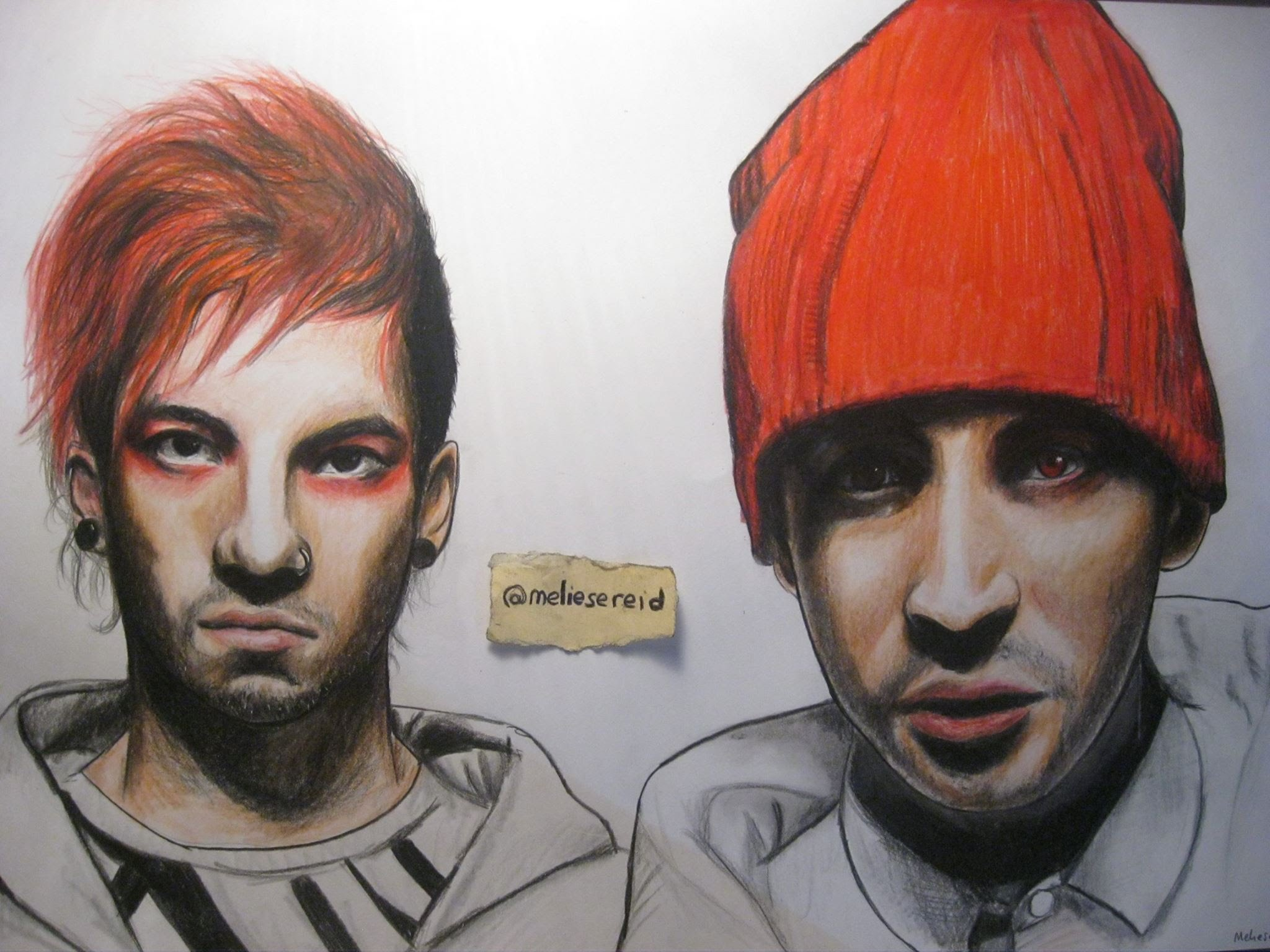 2048x1536 Twenty One Pilots Speed Drawing