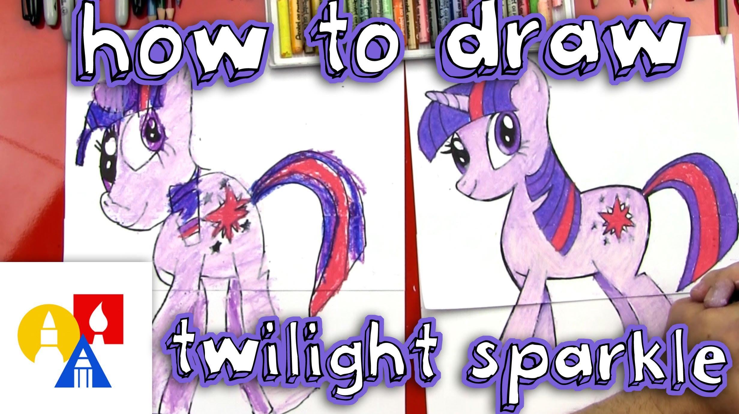2463x1381 How To Draw Twilight Sparkle