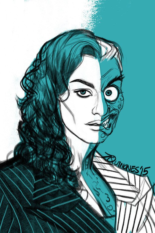 625x938 Rachel Weisz As Two Face, By Gender Swap, Book Characters