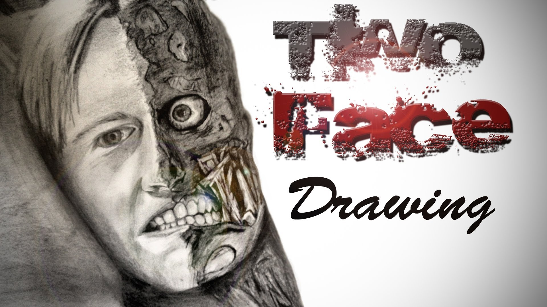1920x1080 Two Face Drawing Finished!