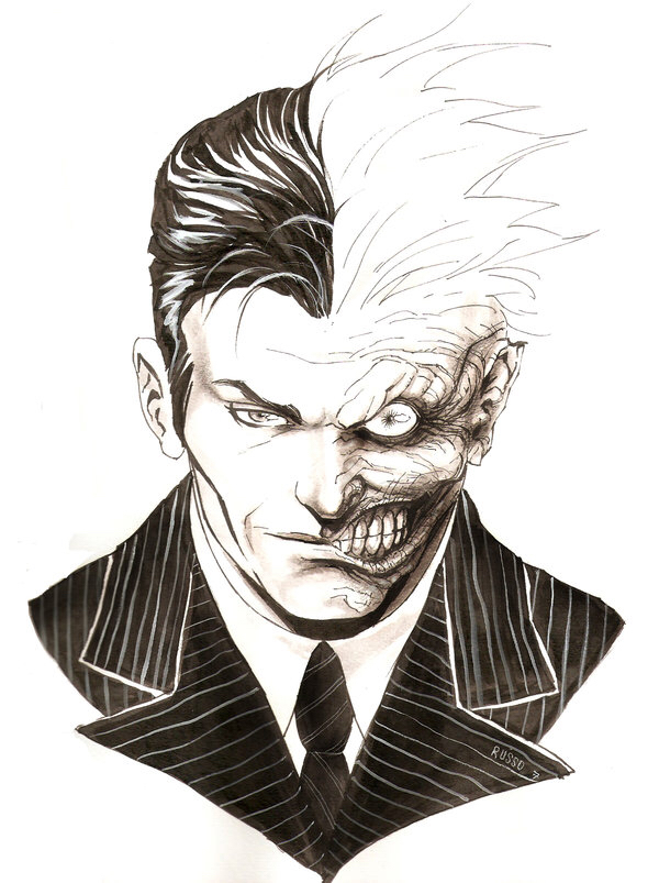 600x803 Two Face Drawing Tattoo Ideas Tattoo
