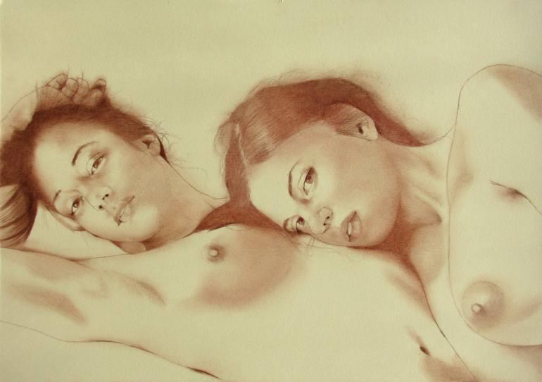770x542 Saatchi Art Two Girls
