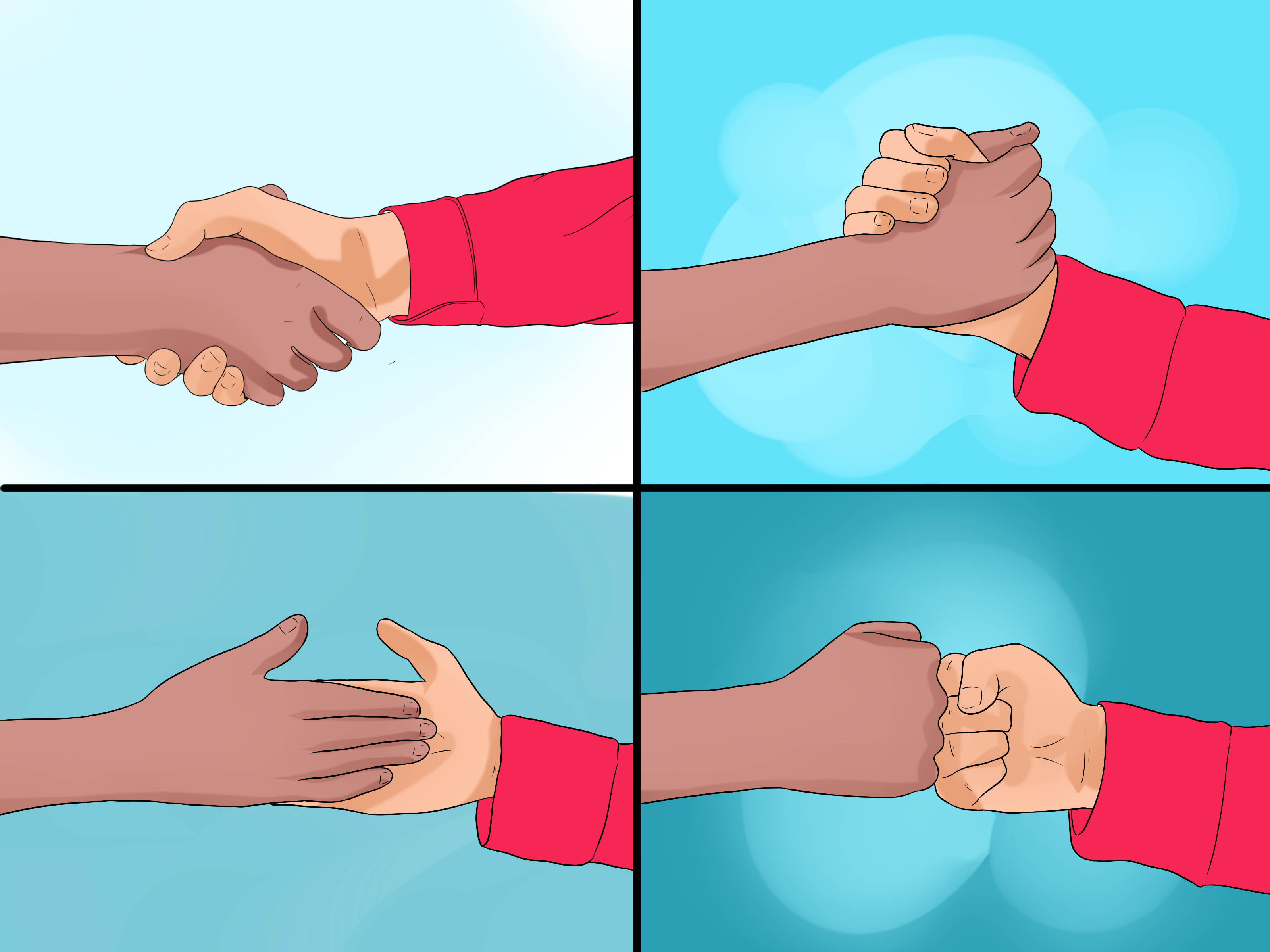 3200x2400 3 Ways To Shake Hands