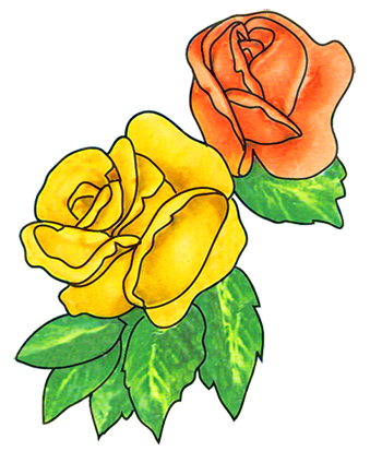 339x413 Free Flower Clipart