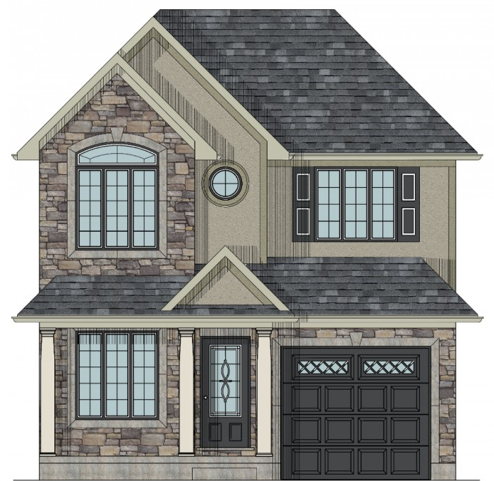 700x681 Canadian Home Designs