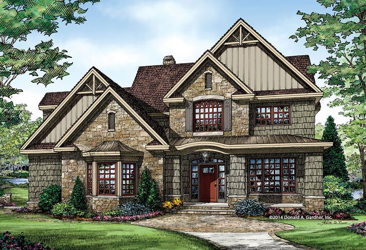 736x502 Craftsman Home With A Twist