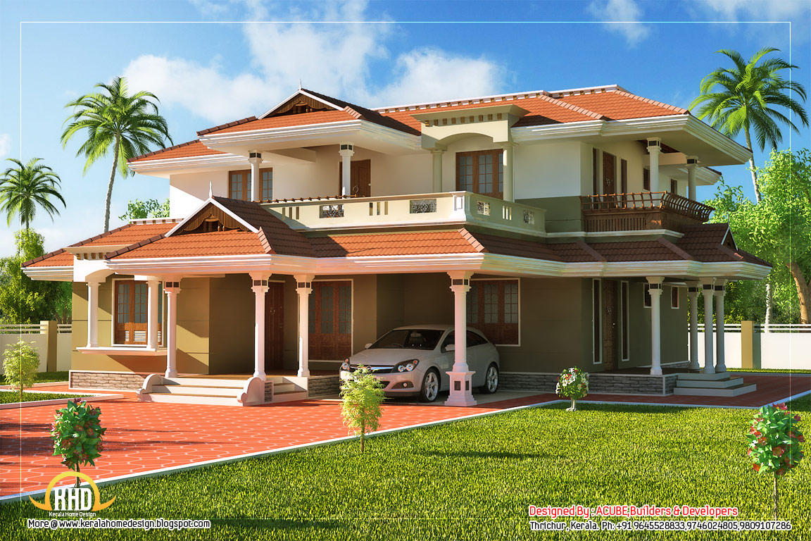 1152x768 story house sq ft kerala home design floor plans benefits story - Home Design Blogspot