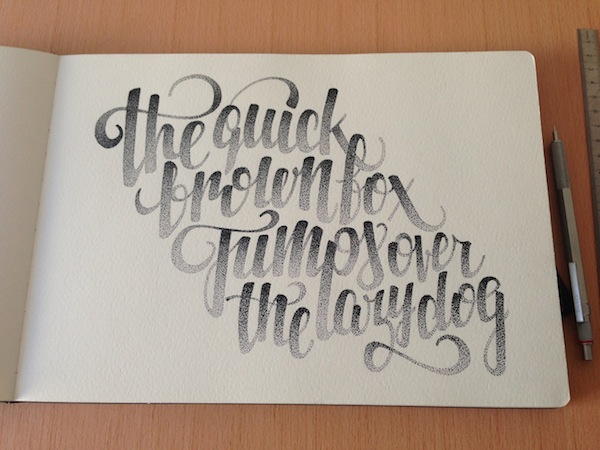 600x450 Typography Inspiration Hand Drawn And