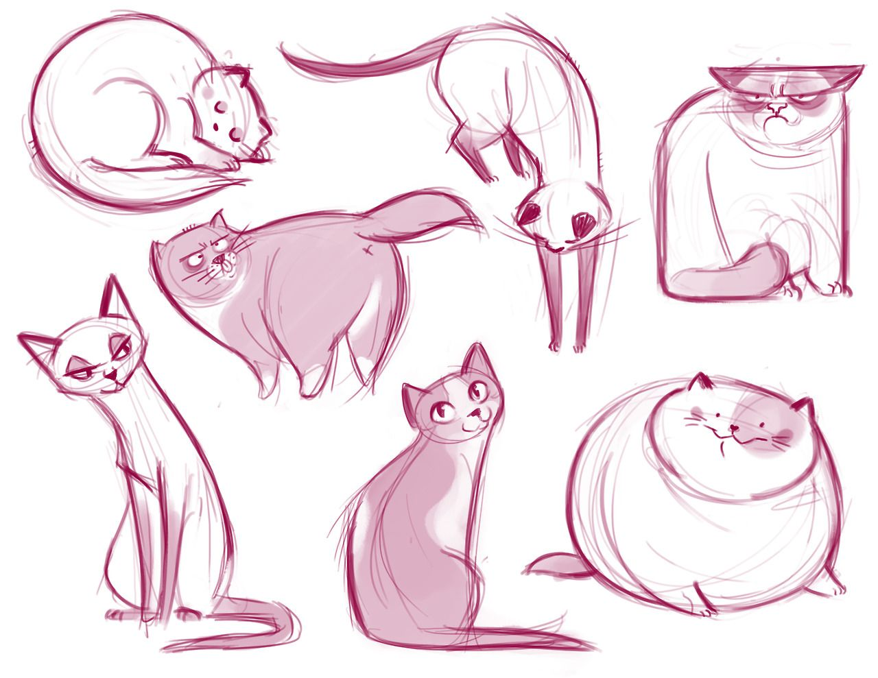 1280x989 If You Like Cat Illustrations, Check Out Our Post About Daily Cat