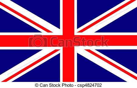 450x290 England. United Kingdom Of Great Britain Flag Vector Illustration