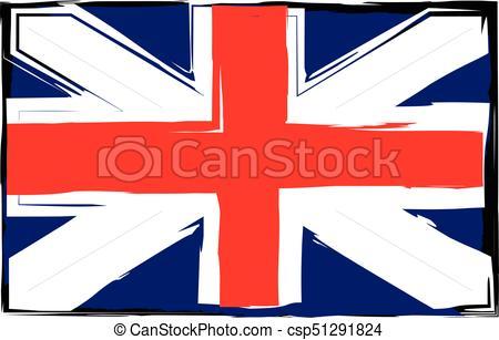 450x307 Grunge Uk Flag Or Banner Vector Illustration Vector Illustration