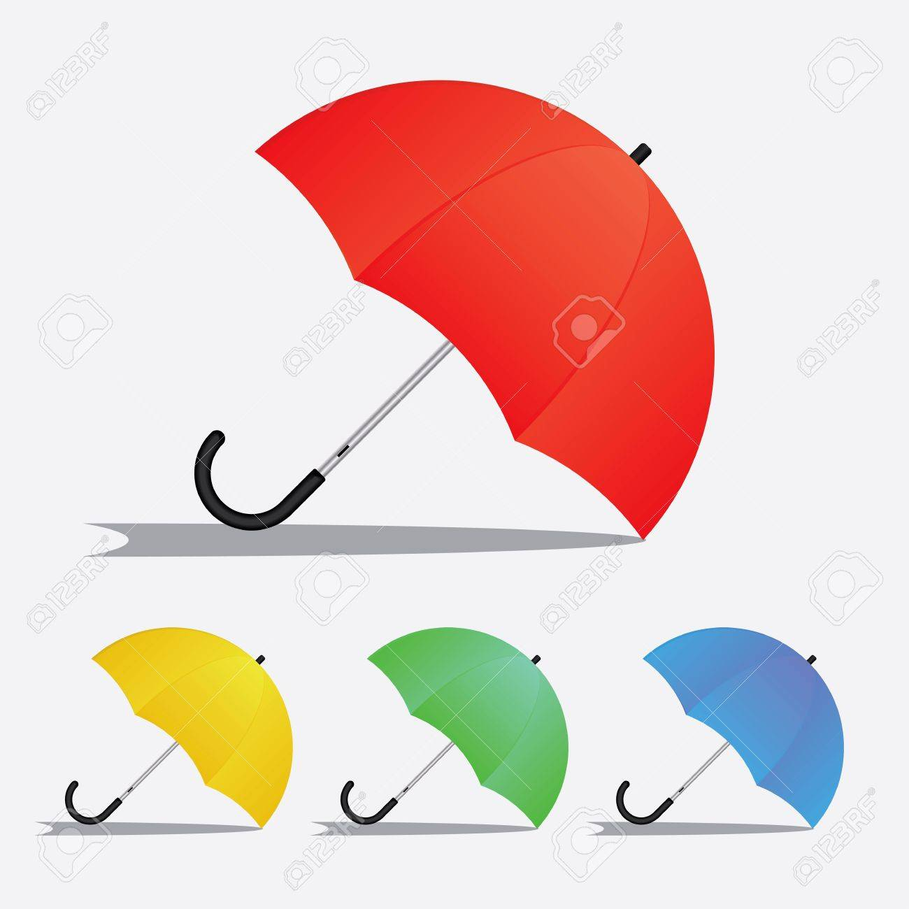 1300x1300 Gray Colored Umbrella On The Floor Drawing Royalty Free Cliparts