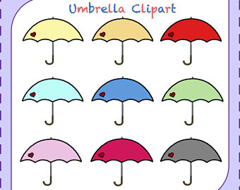 340x270 Umbrella Drawing Etsy