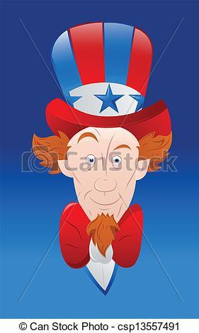 281x470 Vector Art Of Uncle Sam. Drawing Art Of Cartoon Uncle Sam Eps